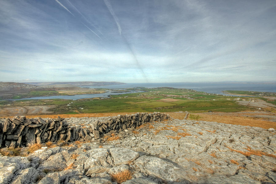 Burren Photograph - Burren View  by John Quinn