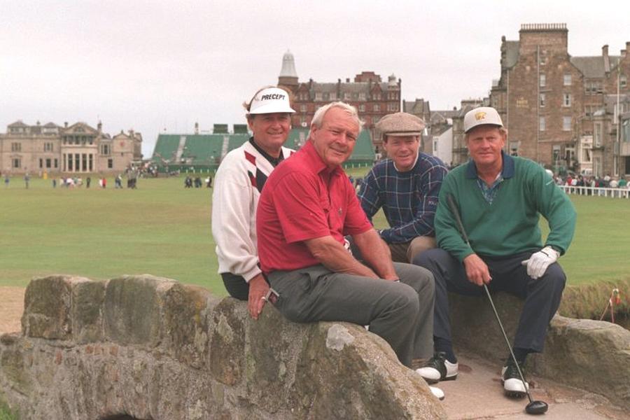 4 Champions British Open Jack Nicklaus Arnold Palmer Tom Watson Raymond Floyd