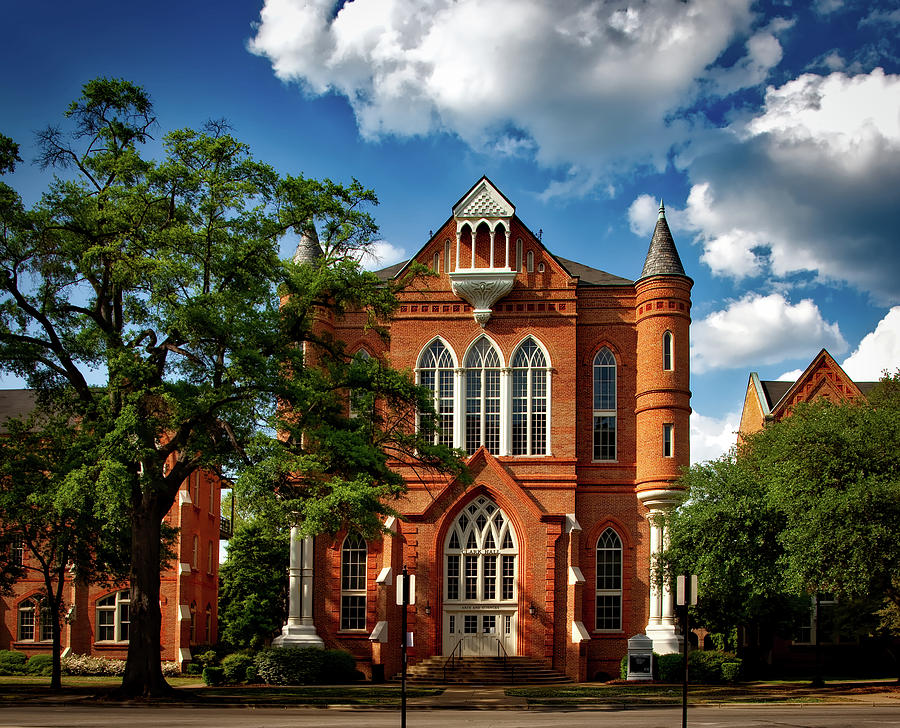 University Of Alabama Photograph - Clark Hall - University of Alabama by Mountain Dreams