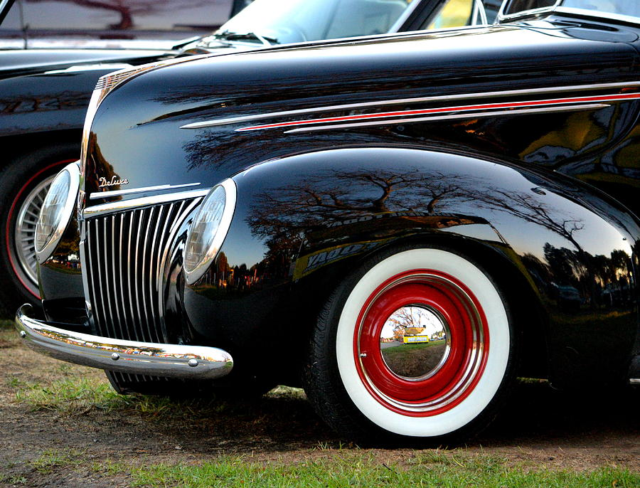 Classic Ford  Photograph by Dean Ferreira
