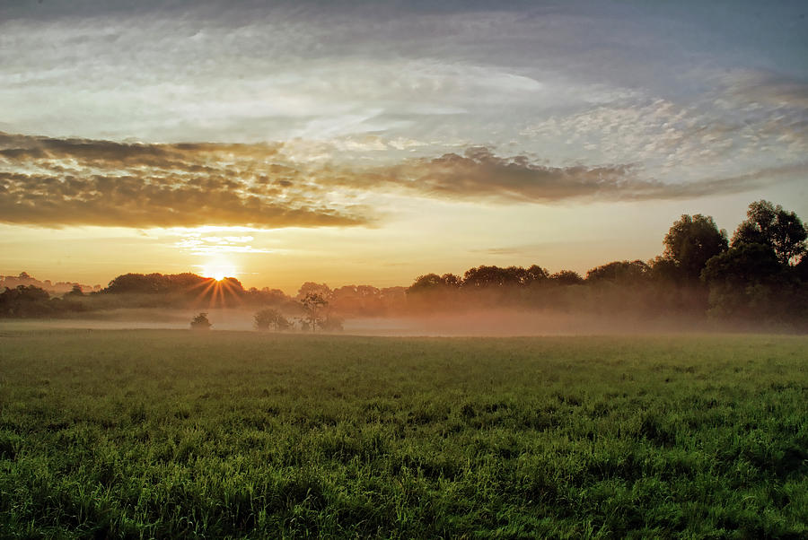 Coagh Dawn by Colin Clarke