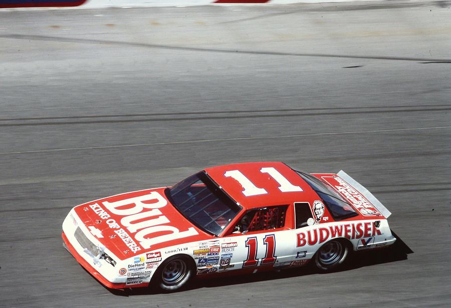 Darrell Waltrip # 11 Budweiser Chevrolet At Daytona by David Bryant