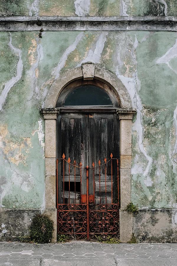 Door With No Number Photograph