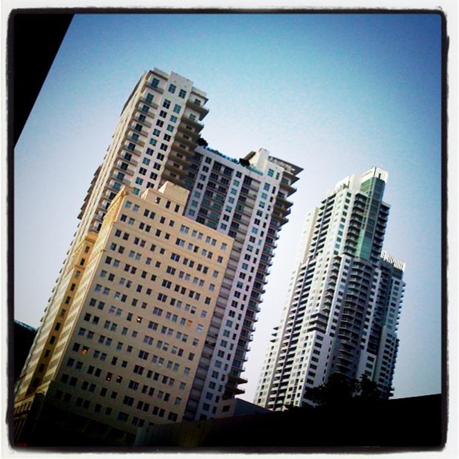 Downtown Miami Photograph by Juan Silva