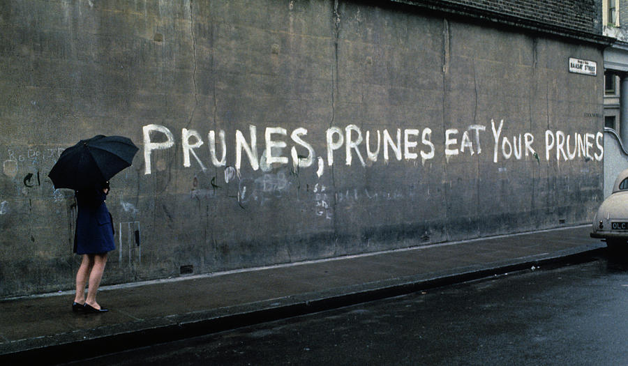 Eat Your Prunes In London Photograph