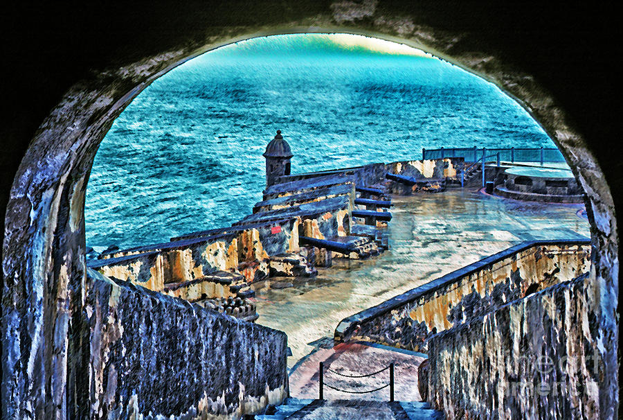 Puerto Rico Photograph - El Morro Fortress Old San Juan by Thomas R Fletcher
