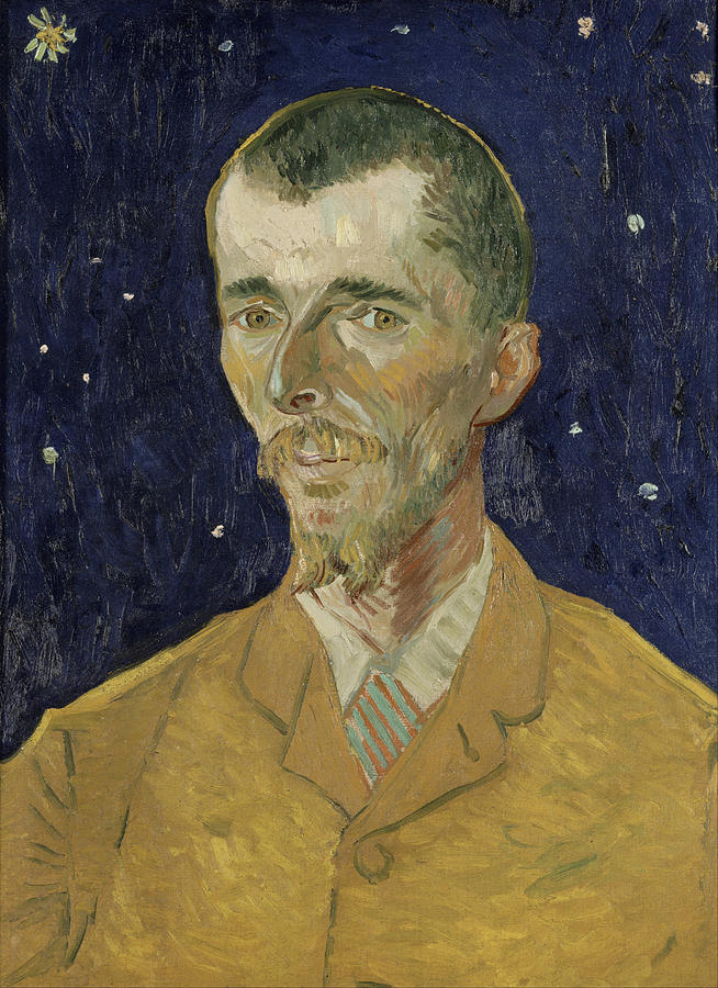 Van Gogh Painting - Eugene Boch by Starry Night