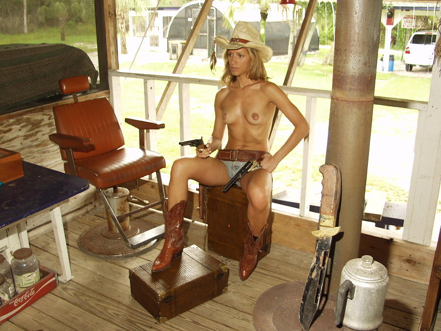 Everglades Cowgirl Photograph by Lucky Cole