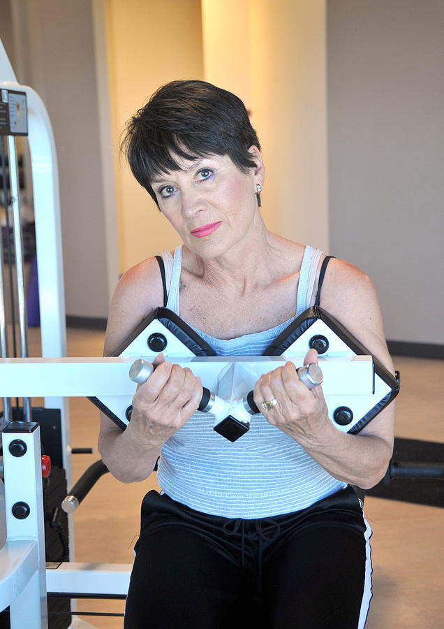 Oscar williams mature female workout