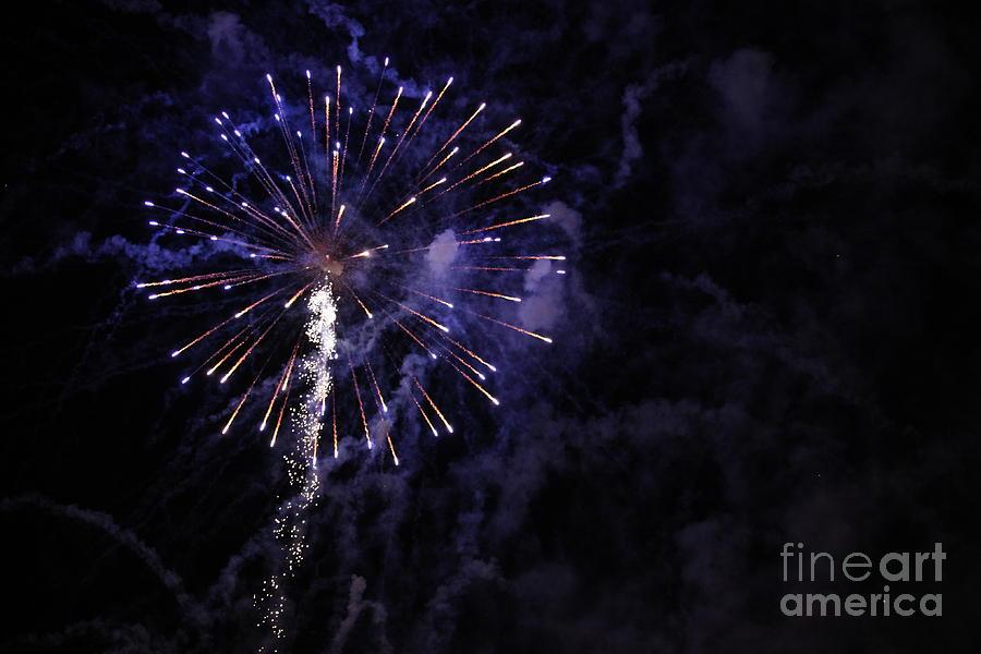 Fireworks Photograph - Fireworks by Diane Falk