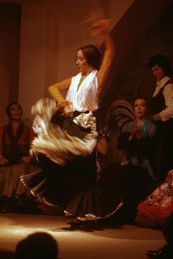 Dance Photograph - Flamenco Dancer by Carl Purcell