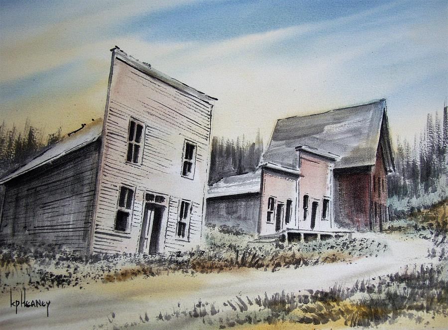 Ghost Town Mixed Media - Garnet Ghost Town Montana by Kevin Heaney