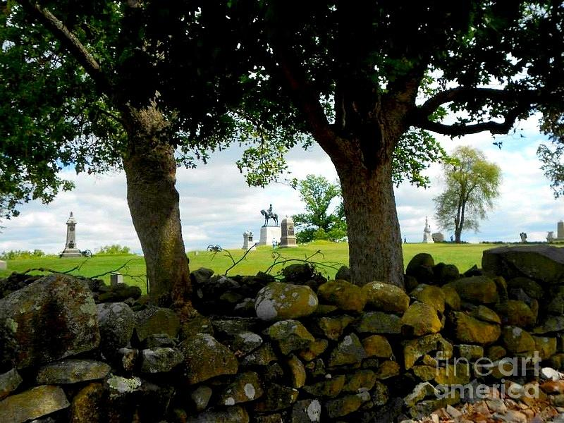 Gettysburg Battlefield Photograph by William Rogers