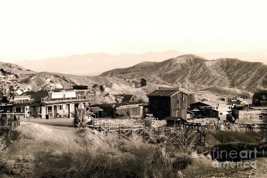 Ghost Town Photograph - Ghost Town by Christopher Johnson