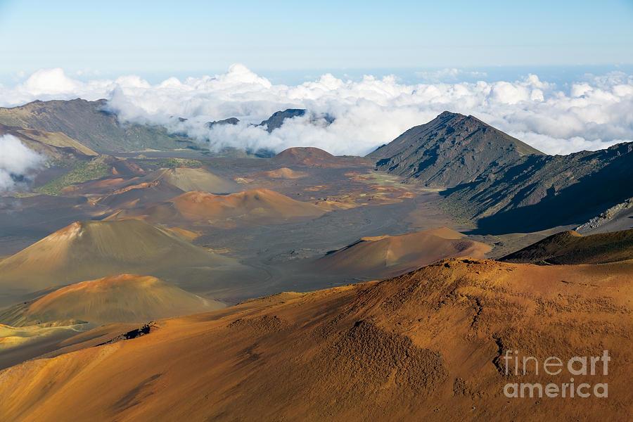 Haleakala Photograph - Haleakala Crater by Mariusz Blach