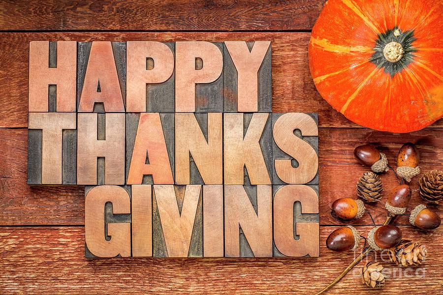 Happy Thanksgiving greeting card by Marek Uliasz