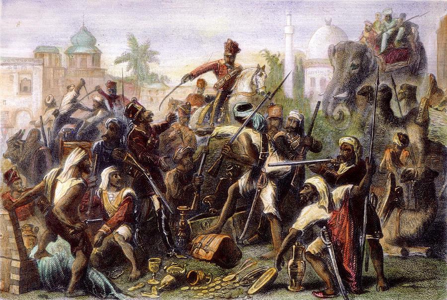 1857 Photograph - India: Sepoy Mutiny, 1857 by Granger
