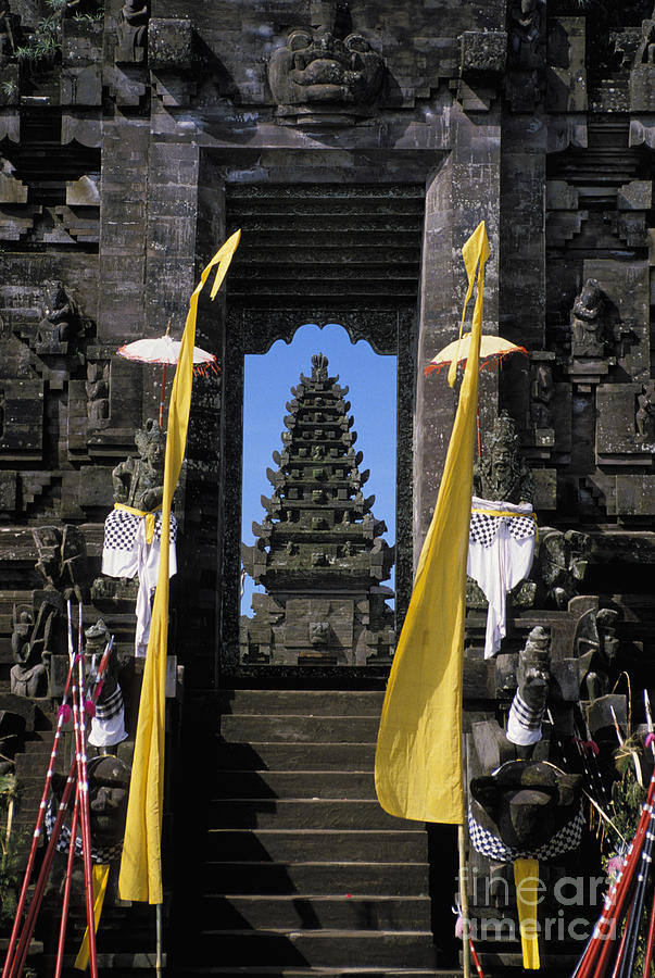 Ancient Photograph - Indonesia, Bali by Gloria & Richard Maschmeyer - Printscapes