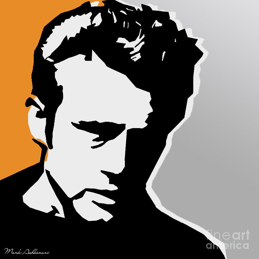 James Dean Digital Art - James Dean  by Mark Ashkenazi