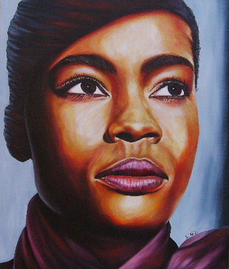 Painting Painting - Josie by Shahid Muqaddim