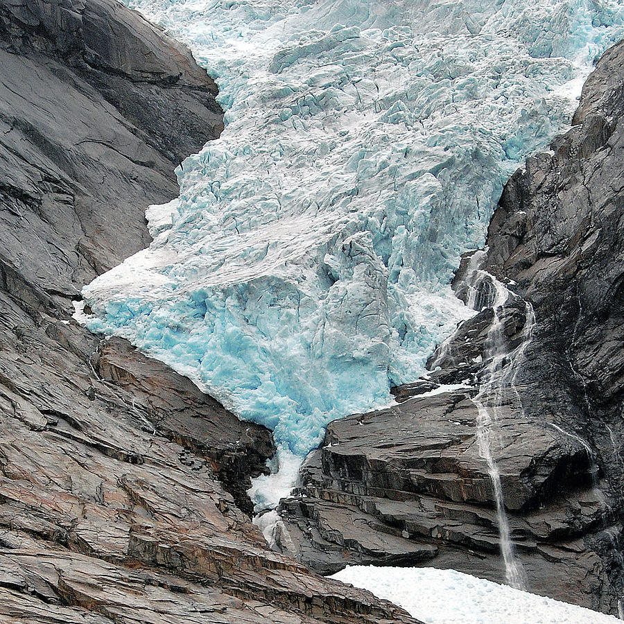 Norway Photograph - Jostedalsbreen National Park by Harvey Barrison