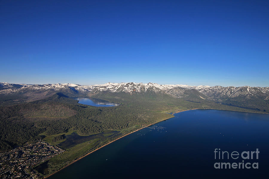 Lake Tahoe by Shishir Sathe