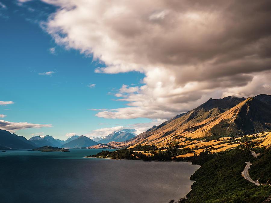 Lake Wakapitu by Walt Sterneman