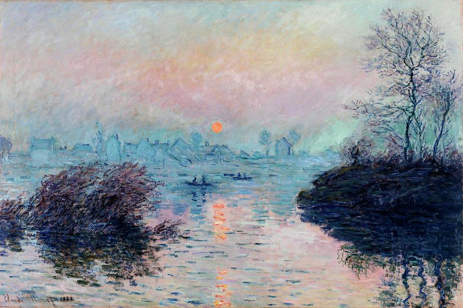 Landscape Painting by Claude Monet