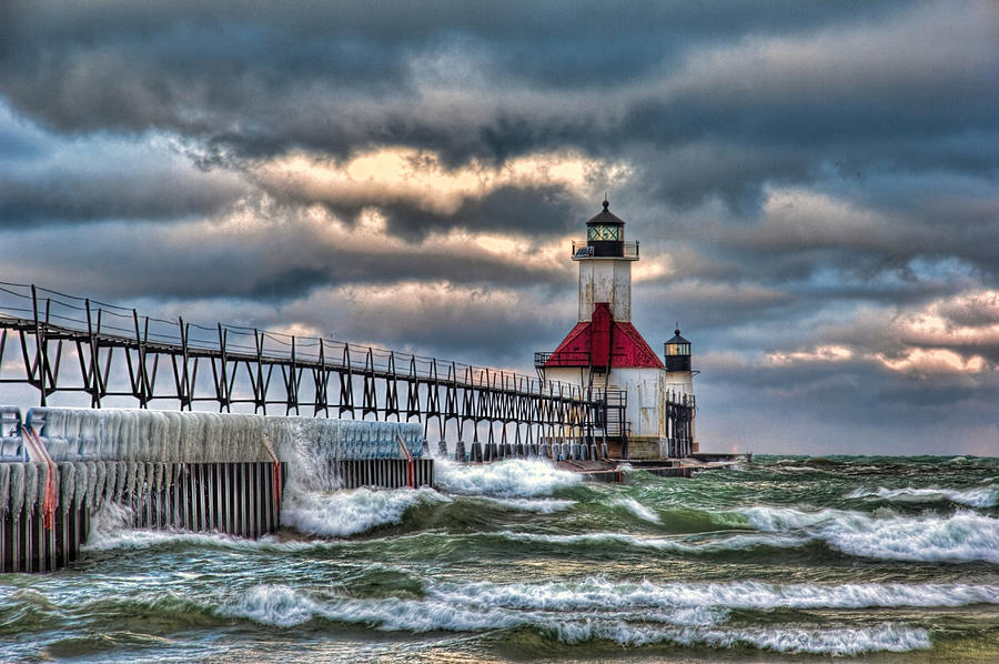 Lighthouse Photograph by Brent Mosher