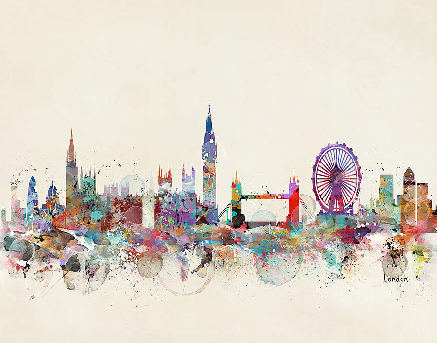 london watercolor paintings fine art america