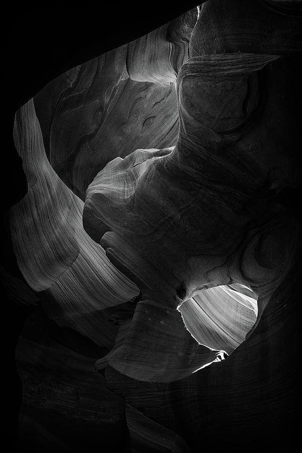 Antelope Canyon Photograph - Lower Antelope Canyon by Alex Conu