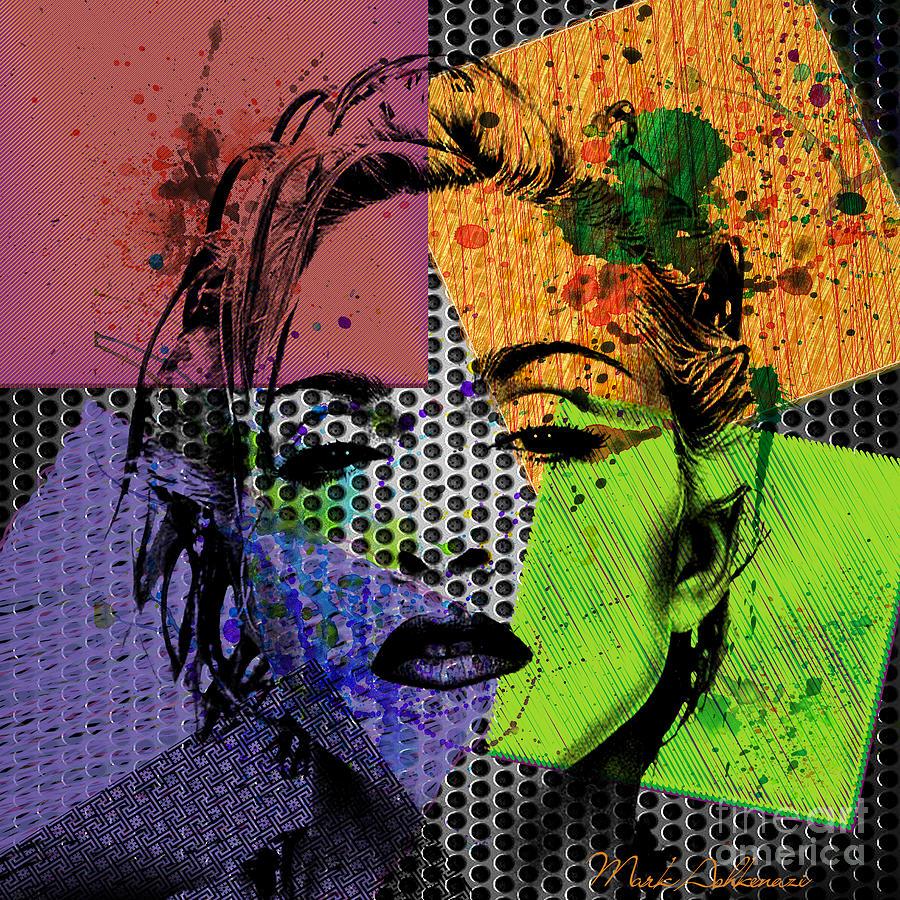 Madonna Painting - Madonna  by Mark Ashkenazi