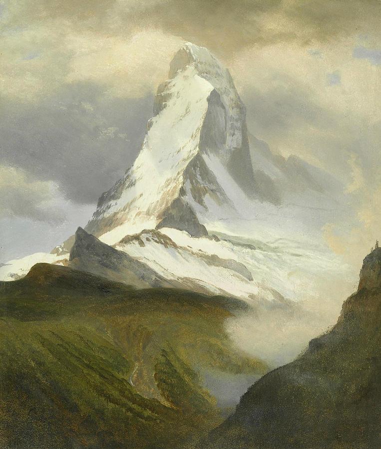 Landscape Painting Painting - Matterhorn by Albert Bierstadt