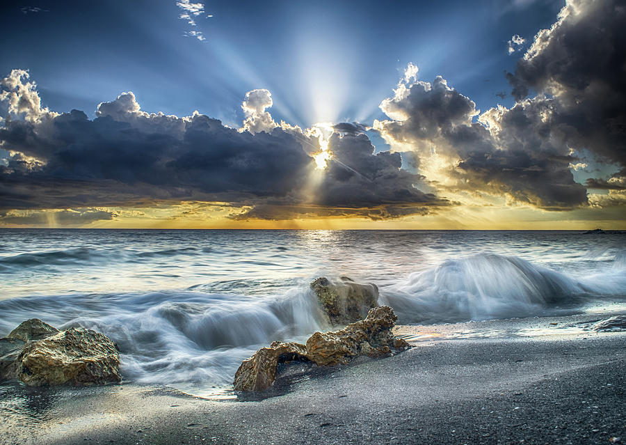 Sunset Photograph - My Florida by Don Miller