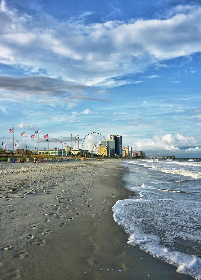 Myrtle Photograph - Myrtle Beach South Carolina by Brendan Reals