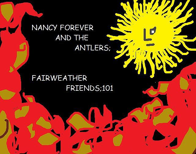 Digital Digital Art - Nancy Forever And The Antlers by Nancy Forever