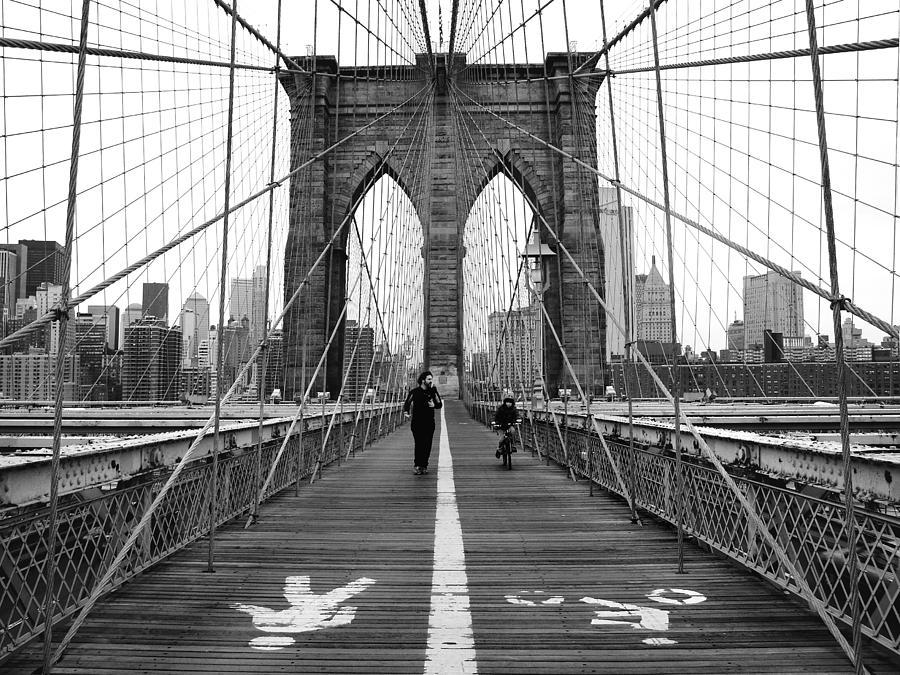 Nyc Brooklyn Bridge Photograph By Nina Papiorek