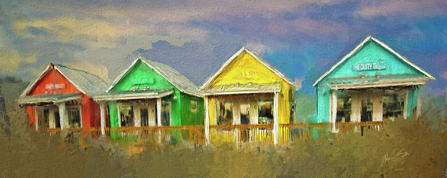 Cabins Digital Art - 4 Of A Kind by Dale Stillman