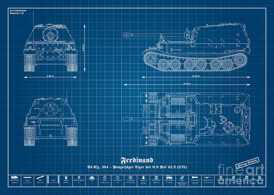 Sd kfz 184 tank destroyer tiger ferdinand digital art by marcel sd kfz 184 tank destroyer tiger ferdinand digital art by marcel thomas malvernweather Images