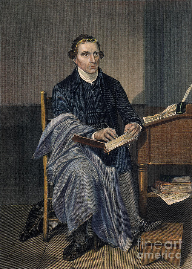 18th Century Photograph - Patrick Henry (1736-1799) by Granger