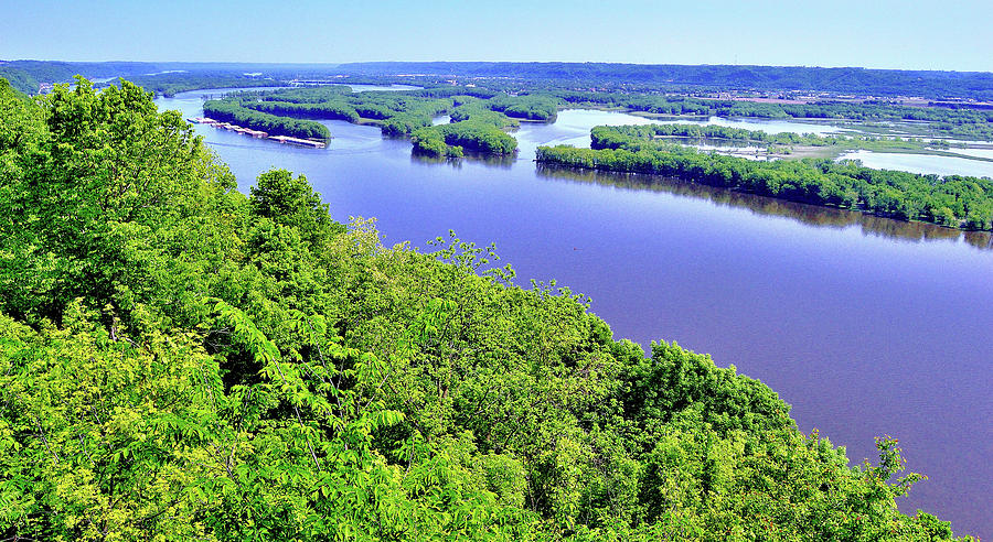Pikes Peak State Park - McGregor, IA Photograph by Sherri Hasley