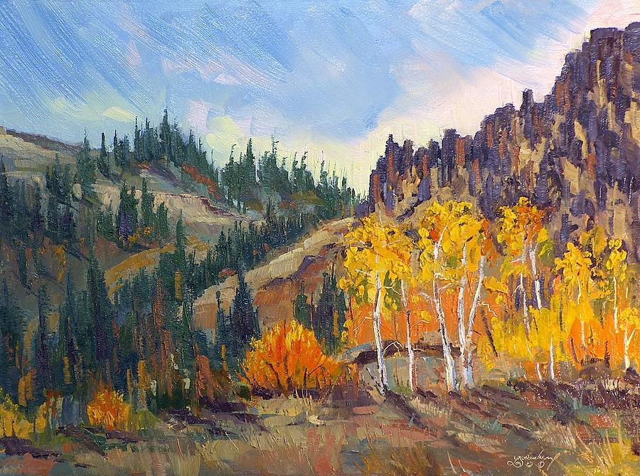 Plein Air Series Painting by Len Sodenkamp