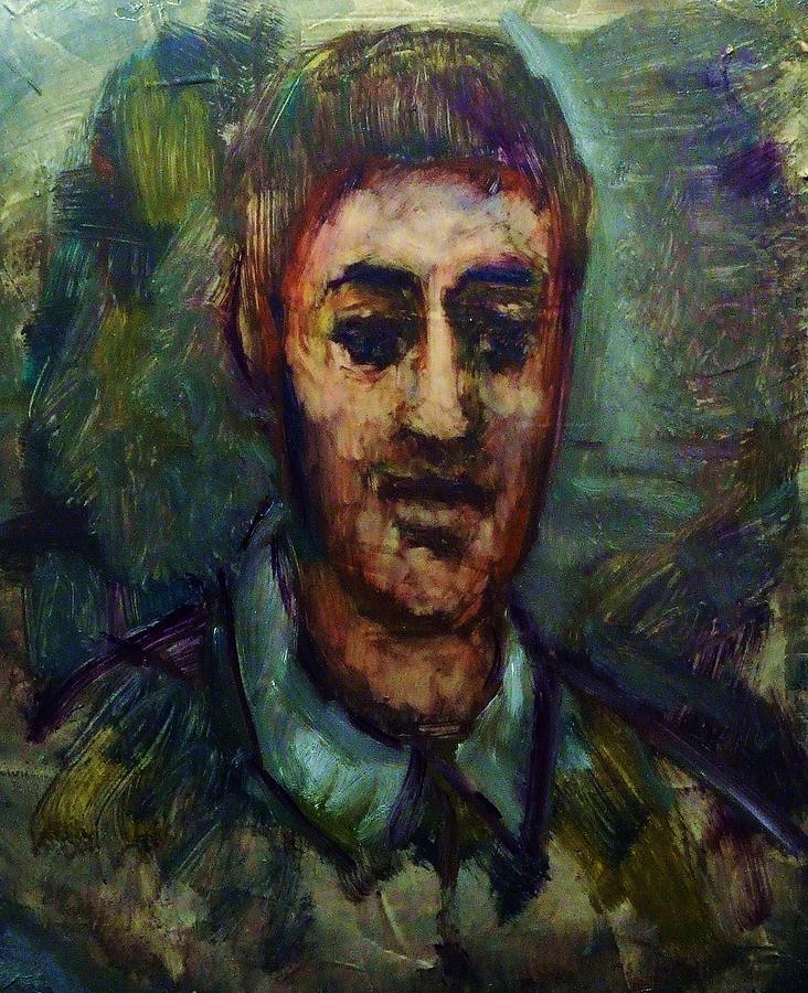 Portrait Painting - Portrait Of A Man by Jean pierre  Harixcalde
