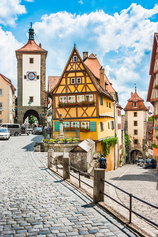 Rothenburg ob der tauber photograph by jr photography - Rothenburg ob der tauber alemania ...