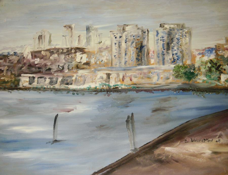 Landscape Painting - San Francisco by Edward Wolverton