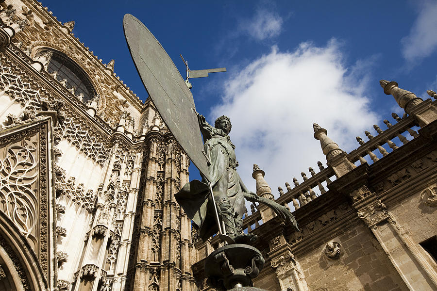 Ancient Photograph - Sevilla by Andre Goncalves