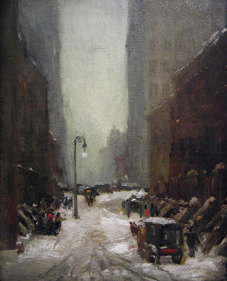 Snow In New York by Robert Henri