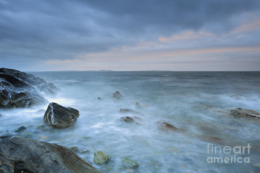Mull Of Kintyre Photograph - Sound Of Jura At Sunset by Maria Gaellman