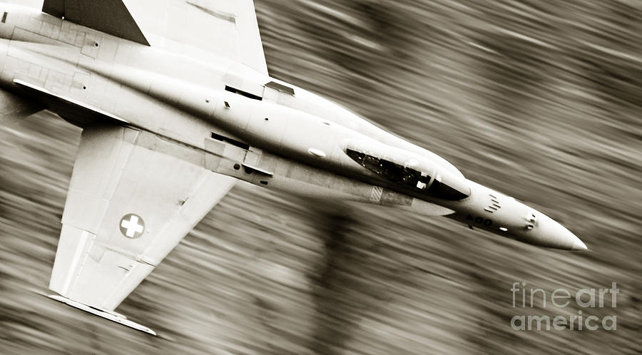 Airshow Photograph - Speed Of Sound by Angel  Tarantella