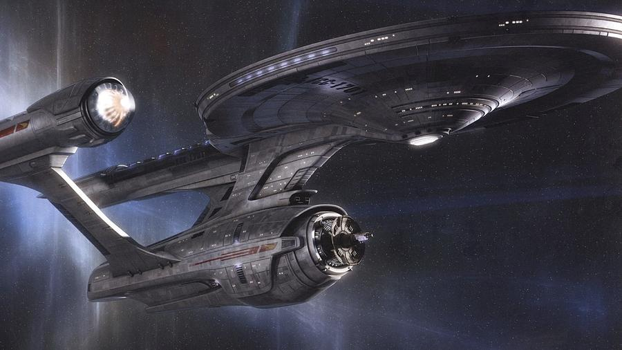Star Trek Digital Art - Star Trek by Dorothy Binder